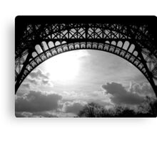 Under Eiffel Canvas Print