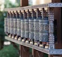 Manipadam, tibetian prayer wheels by Balint Takacs