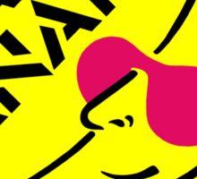 Crazy Banana - Circle Sticker