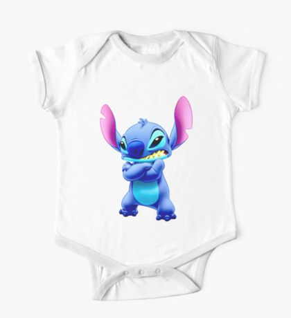Angry Stitch One Piece - Short Sleeve