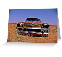 1958 Buick - Fort Sumner, NM Greeting Card
