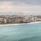 Biarritz Skyline - France by Joshua McDonough Photography