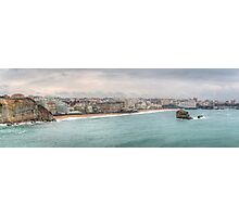 Biarritz Skyline - France Photographic Print