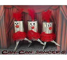 Can-can dancers Photographic Print
