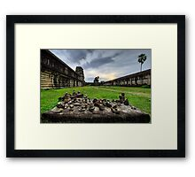 Late Afternoon, Angkor Wat, Cambodia Framed Print