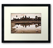 Classic, Angkor Wat, Cambodia Framed Print