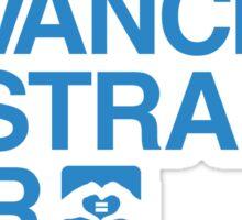 Advance Australia. Fair. Sticker