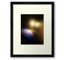 ©DigiArt Two Suns Framed Print