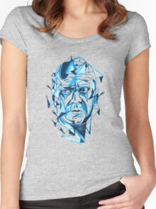 Bruce Willis is my homeboy ( light colors) Women's Fitted Scoop T-Shirt