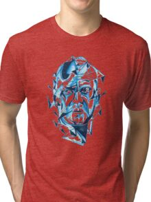 Bruce Willis is my homeboy ( light colors) Tri-blend T-Shirt