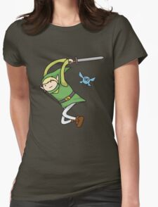 Zelda Time Womens Fitted T-Shirt
