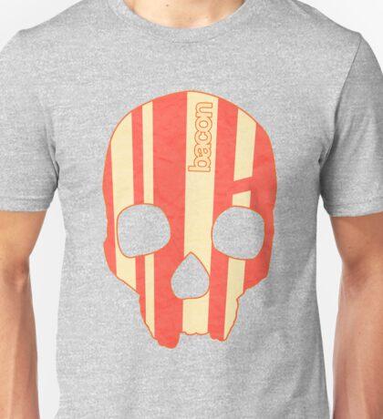 Bacon Skull Unisex T-Shirt