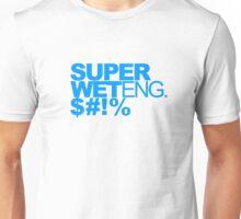 T-Shirt - Super Wet Eng. $#!% - Blue Unisex T-Shirt