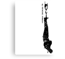 Meat hook faded [black] Canvas Print