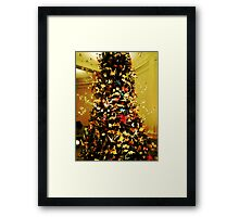 Origami Tree-Museum of Natural History Framed Print