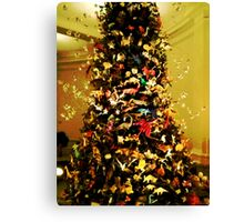 Origami Tree-Museum of Natural History Canvas Print
