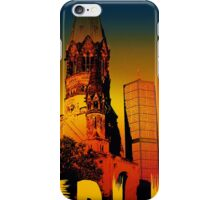 Berlin Gedächtniskirche iPhone Case/Skin