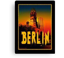 Berlin Gedächtniskirche Canvas Print