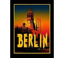 Berlin Gedächtniskirche Photographic Print