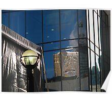 Light reflecting light Poster
