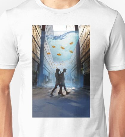 Urban Fish Bowl, aquarium Unisex T-Shirt