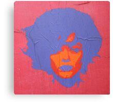 """Warhol Stencil Graffiti """"Kate"""" Canvas Print"""