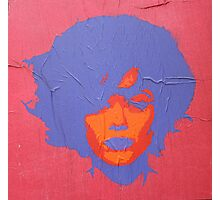 "Warhol Stencil Graffiti ""Kate"" Photographic Print"