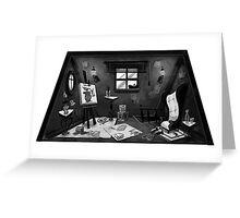 Studio Interior Greeting Card