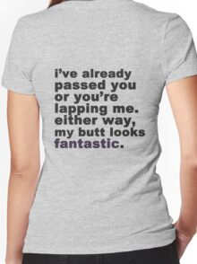 My Butt Looks Fantastic Women's Fitted V-Neck T-Shirt