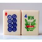 Mahjong Series - Tile 12 by rosetewolfelens