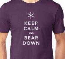 Keep Calm and Bear Down Unisex T-Shirt