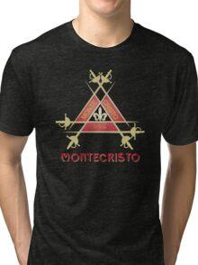 Montecristo Cuban Cigar Tri-blend T-Shirt