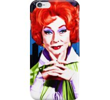 What would Endora? Bewitched. Agnes Moorehead. Samantha mother iPhone Case/Skin