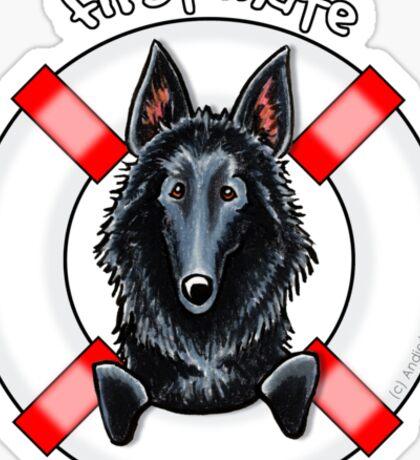 Belgian Sheepdog :: First Mate Sticker