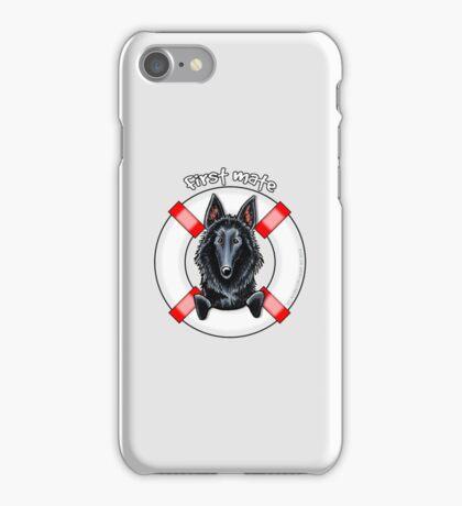 Belgian Sheepdog :: First Mate iPhone Case/Skin