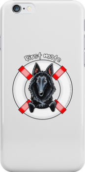 Belgian Sheepdog :: First Mate by offleashart