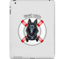Belgian Sheepdog :: First Mate iPad Case/Skin