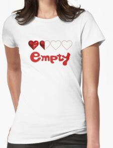 Catherine Game Empty Womens Fitted T-Shirt