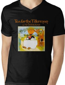 Vintage Cat Stevens Tea For The Tillerman Mens V-Neck T-Shirt
