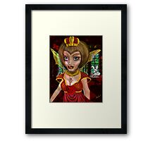 Queen of Heart: the eve before the Fall Framed Print