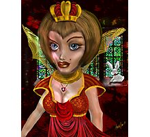 Queen of Heart: the eve before the Fall Photographic Print