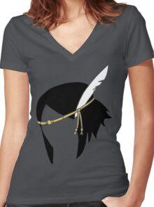 Noire - FE:Awakening Women's Fitted V-Neck T-Shirt