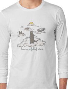 heaven is full of otters! Long Sleeve T-Shirt