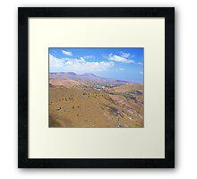 Lanzarote Landscape Framed Print