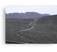 Curvy Roads Canvas Print
