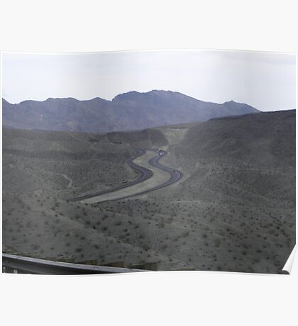 Curvy Roads Poster