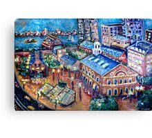 Faneuil Hall, Boston Massachusetts  Canvas Print