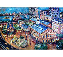 Faneuil Hall, Boston Massachusetts  Photographic Print
