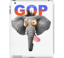 GOP (Republican Party) Mascot iPad Case/Skin