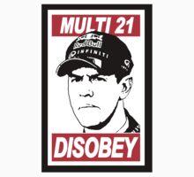 Multi 21 Disobey - Sebastian Vettel by oawan